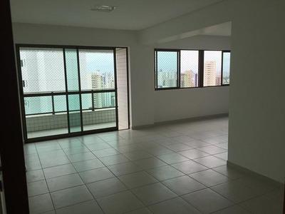 Apartamento Com 3 Dormitórios Para Alugar, 129 M² Por R$ 5.000/mês - Casa Amarela - Recife/pe - Ap0128