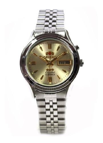 Relógio Orient Masculino Automático Aço Médio Femo301wc9