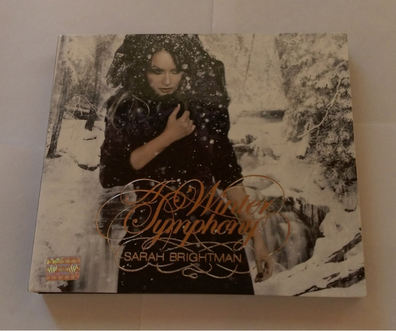 Sarah Brightman A Winter Symphony Cd/dvd