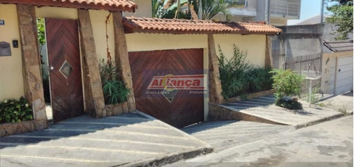 Casa Com 3 Dormitórios À Venda, 430 M² - Parque Flamengo - Guarulhos/sp - Ai20831