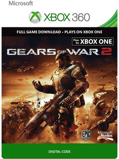 Gears Of War 2 Xbox One/xbox 360 Codigo (entrega Inmediata)