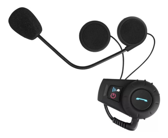 Intercomunicador Bluetooth Kit Manos Libres Casco Moto