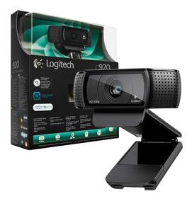 Webcam Logitech C920 Full Hd 1080p 15mp Stream Youtuber