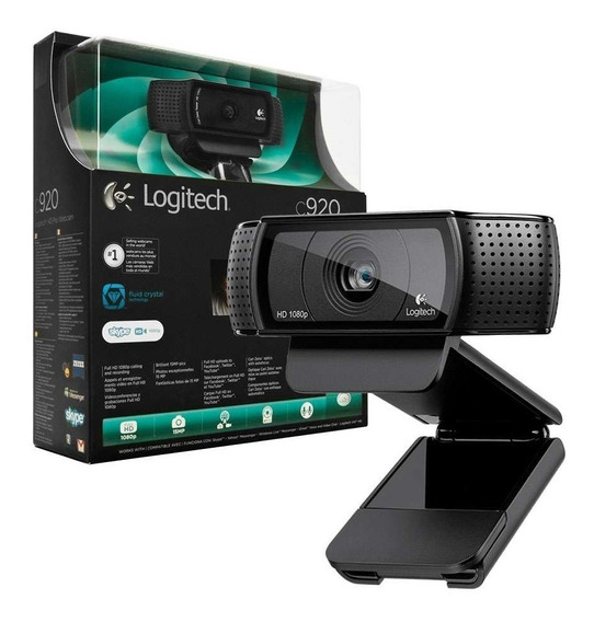 Webcam Logitech C920 Full Hd 1080p 15mp Stream Youtuber