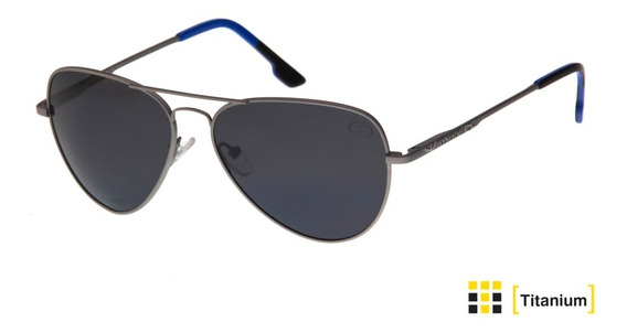 Oculos De Sol Body Glove,polarizadas, Titânio Lent-uva/uvb