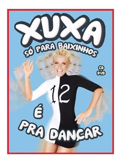 Dvd + Cd Xuxa Só Para Baixinhos 12 - Box Lacrado E Original