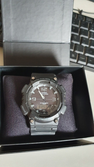 Relógio Casio Aq-s810w-1a2vdf Toughsolar
