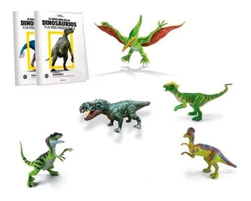 Imagen 1 de 4 de Clarín Colección Natgeo Dinosaurios Set 3 De 5 Fascículos