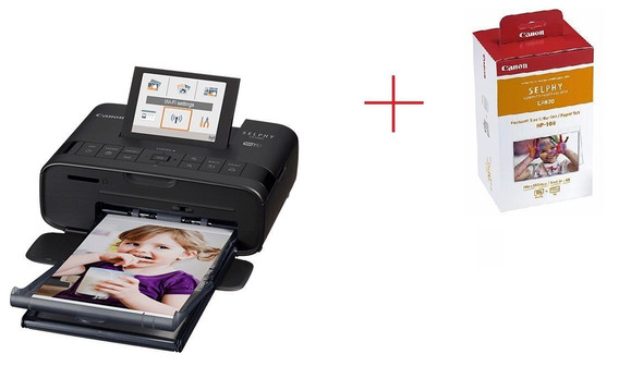 Impressora Fotográfica Canon Selphy + Cartucho Brinde Rp108
