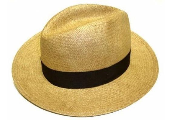 Chapéu Moda Panamá Aba Larga Casual Praia Unissex. Ref: 236
