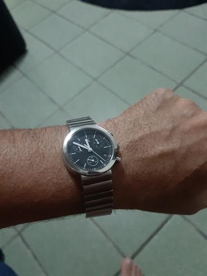 Relogio Calvin Klein Original Cronograf Em Aço Inox Show.