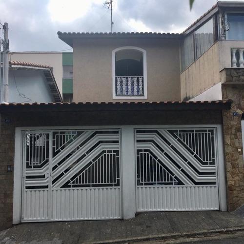 Imagem 1 de 15 de Sobrado Mobiliado À Veda Em Guarulhos - Ai23122