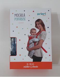 Mochila Porta Bebé Priori 8302 Dos Posiciones 12 Kg