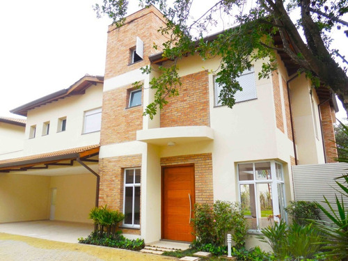 Imagem 1 de 29 de Casa Em Condomínio Com 4 Suítes, Jardim E Piscina No Alto Da Boa Vista - Reo17443