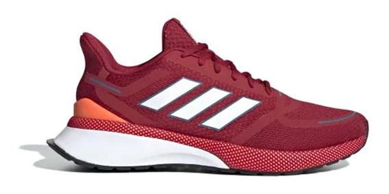Zapatillas adidas Novafvse Hombre Running Roja/bordo