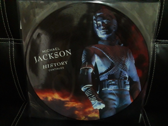 Micharl Jackson Lp Picture Disc Duplo History Continues Novo