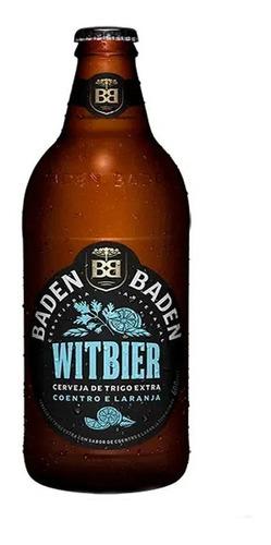 Cerveja Baden Baden Witbier 600ml 1 Unidade