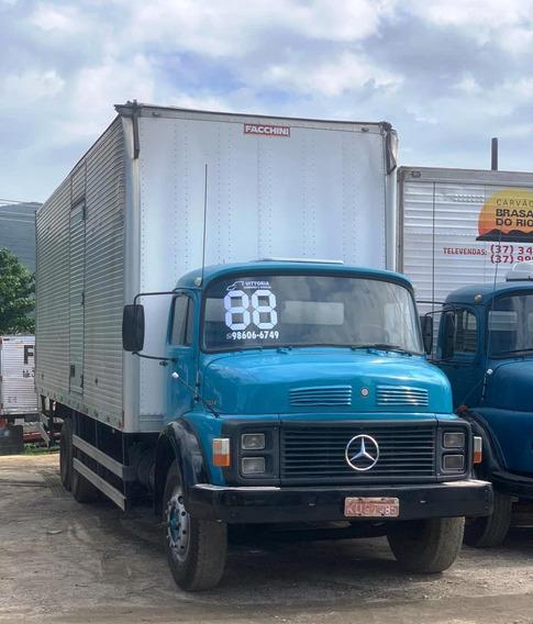 Caminhão Mercedes Benz Mb 1114 Truck Baú