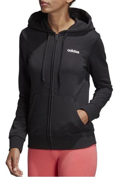 Buzo adidas Mujer Essential Plain Negro - Corner Deportes