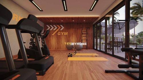 Studio Com 1 Dormitório À Venda, 17 M² Por R$ 168.200,00 - Novo Mundo - Curitiba/pr - St0218