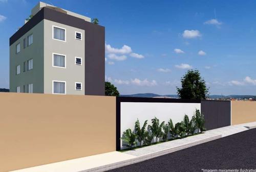 Imagem 1 de 7 de Apartamento Com Área Privativa À Venda, 2 Quartos, 1 Vaga, Serra Dourada - Vespasiano/ni - 1643