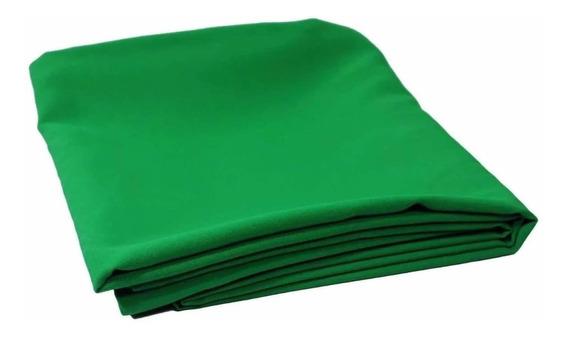 Tecido Choroma Key 1,90x3,00mts / Fundo Verde - Promoção