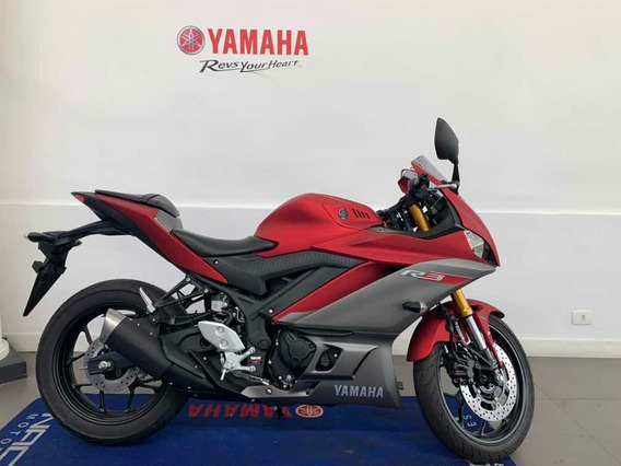 Yamaha Yzf R3 Abs Vermelha 2020