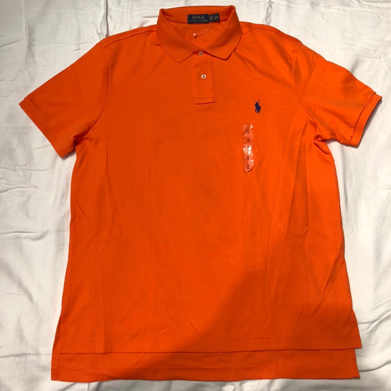 Polo Ralph Lauren Naranja Original Xl Eg Nueva Barata Pony