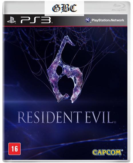 Resident Evil 6 Ps3 // Psn Pt-br / Digital * Gbc