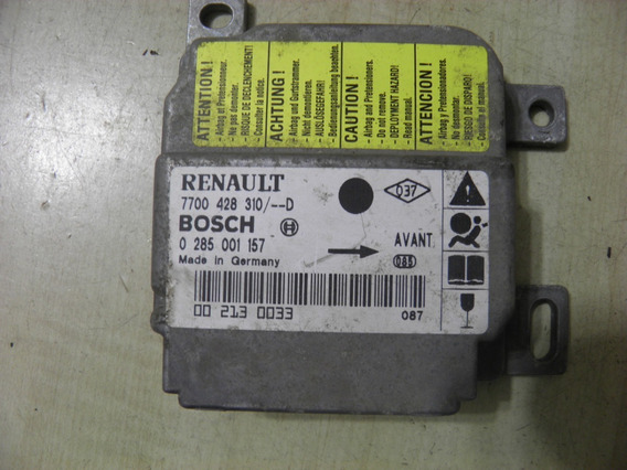 Modulo Central Air Bag Bosch Renault Clio 0285001157
