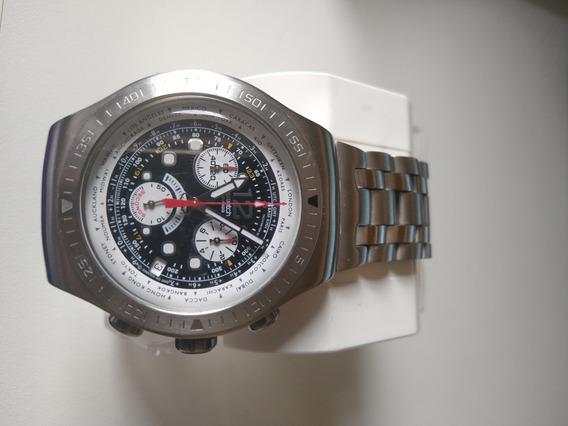 Relógio Masculino Swatch Automatic Get Fly Black