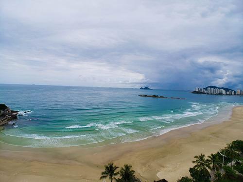 Praia Das Pitangueiras - Frente Total Para O Mar - 5 Dormitórios - 2 Vagas - Lazer - Ap05033 - 67633214