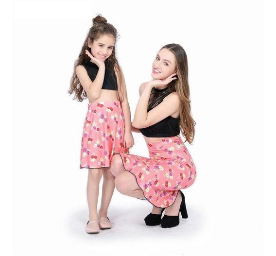 Set Falda Y Top Para Mamá E Hija