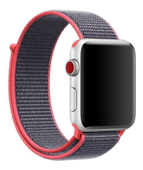 Correa Nylon Generica Apple Watch 38mm 40mm 42mm 44mm 2020