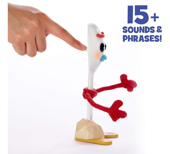 Forky Toy Story 4 Original Con 15 Frases 20cm
