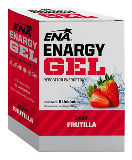 Enargy Gel X 6 Sobres - Ena