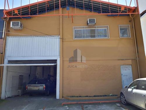Galpão Comercial À Venda, 390 M² - Vila América - Santo André/sp - Ga0024