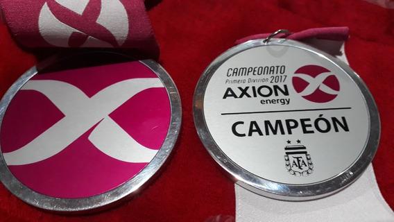 Medalla Boca Campeón 2017 Torneo Energy