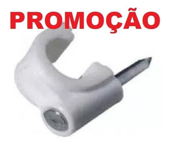 Miguelão Fixa Fio 5mm Rg59 - Flat - Drop Prego Aço -1000 Pçs