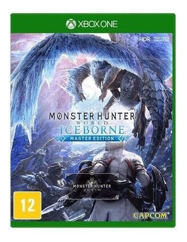 Monster Hunter World Iceborn (mídia Física) Xbox One (novo)