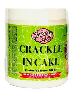 Craquelador Crackle In Cake Cherry And Cake 200gr