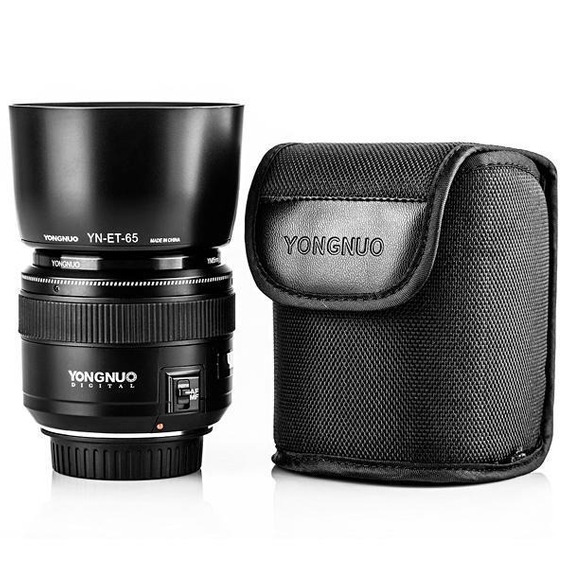 Lente Yongnuo Yn85mm F1.8 Para Câmeras Canon