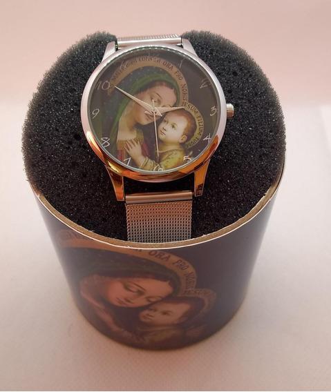 Relógio De Pulso Personalizado Feminino Imagem Santa Catolic