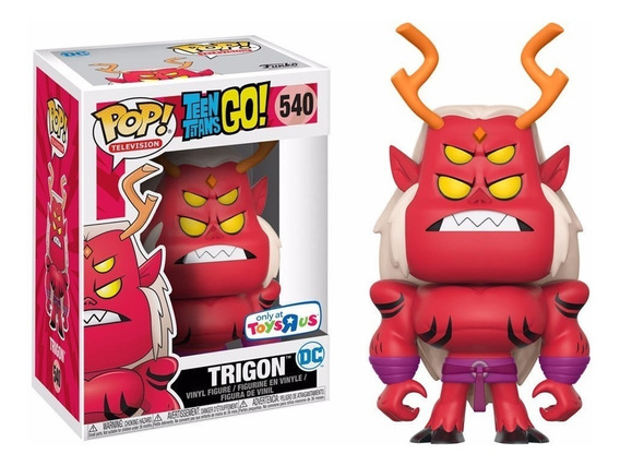 Funko Pop! Teen Titans Go! Trigon Jovens Titãs Em Ação Dc