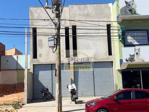 Salão Para Alugar Com 3 Salas E 180 M² - Parque Da Amizade (nova Veneza) - Sumaré/sp - Sl0939