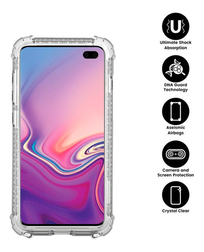 Capa Anti Impacto X-one | Samsung Galaxy S10 6.1 | Dropguard Case Pro | Transparente