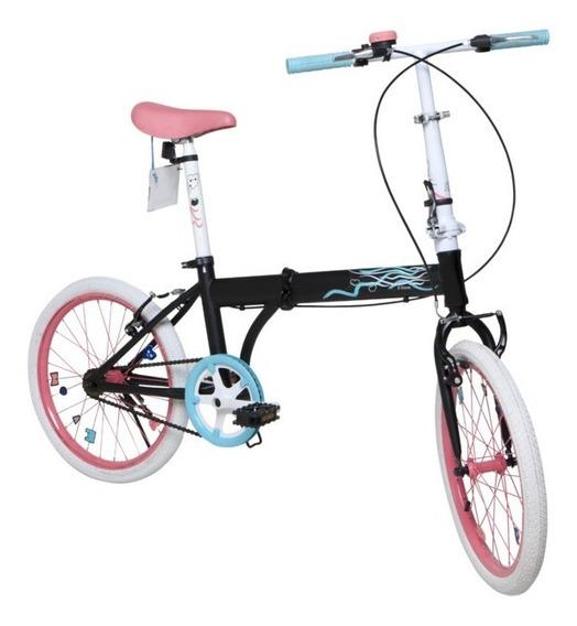 Bicicleta Plegable Rodado 20 Bia Disney Babymovil 7153