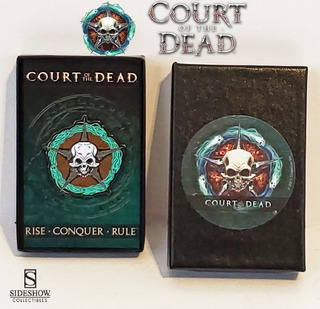 Court Of The Dead. Pin. Sideshow Collectibles. 2016.