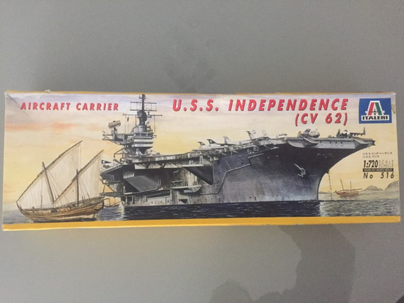 Uss Independence (porta-aviões Usn). Esc. 1/720. Italeri