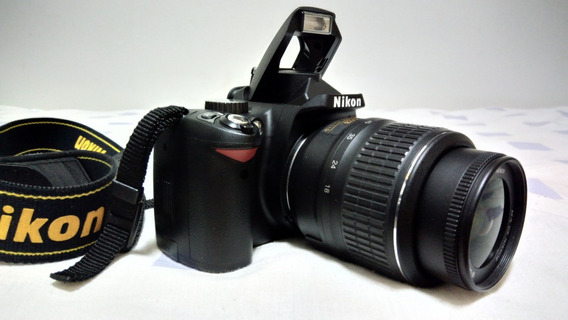 Câmera Digital Nikon D60 Com Todos Os Acessórios. Excelente!